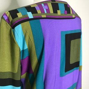 Sandra Darren Dresses - Sandra Darren Geometric Shift Dress A130330
